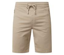 Regular Fit Shorts mit Stretch-Anteil Modell 'Ron'