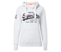 Sweatshirt mit Logo-Print und Pailletten