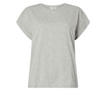 T-Shirt mit überschnittenen Schultern Modell 'Alva'