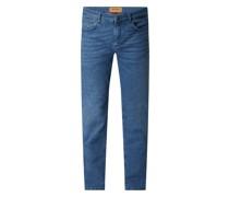 Slim Fit Jeans mit Stretch-Anteil Modell 'Portman Coolmax'