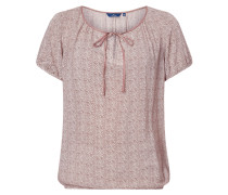 Blusenshirt mit elastischen Abschlüssen