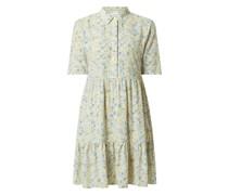 Blusenkleid mit floralem Muster Modell 'Moras'