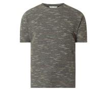 T-Shirt mit strukturiertem Muster