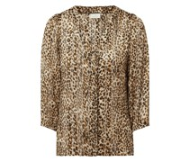 Bluse mit Leopardenmuster Modell 'Latanya'
