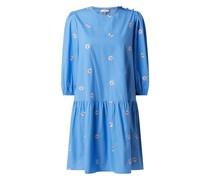 Kleid mit floralen Stickereien Modell 'Nucliona'