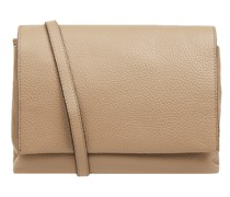 Crossbody Bag aus Leder Modell 'Three'