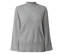 Pullover mit Stehkragen Modell 'Kava'