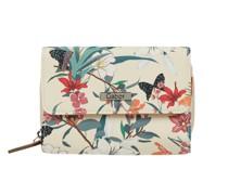 Portemonnaie mit floralem Muster