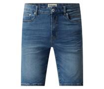 Regular Fit Jeansshorts mit Stretch-Anteil Modell 'Ryder'