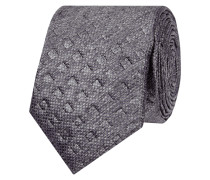 Krawatte mit geprägtem Rautenmuster