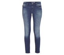Stone Washed Super Skinny Jeans