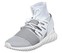 Sock Sneaker 'Tubular Doom PK' mit Lederbesatz