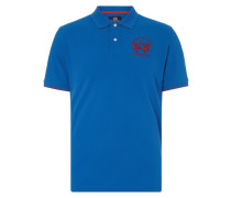 Regular Fit Poloshirt mit Logo-Stickerei