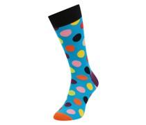 Socken mit Punktmuster