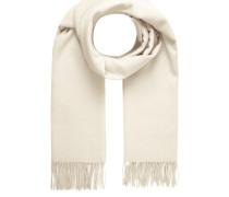 Schal mit Fransenabschluss aus reiner Wolle
