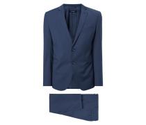 Super Slim Fit Anzug mit feinem Webmuster