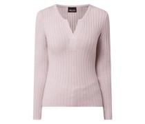 Pullover mit Tunikakragen Modell 'Gilaya'