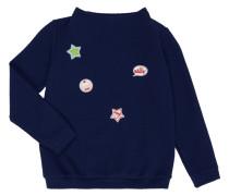 Sweatshirt mit Aufnähern