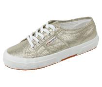 Sneaker mit Glitterbesatz