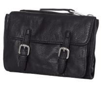 Crossbody Bag aus Leder mit drei Fächern