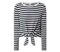 Shirt mit Knotendetail Modell 'Tinny'