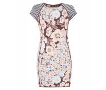 Kleid mit eingearbeitetem Mustermix