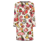 Kleid mit Obst-Print