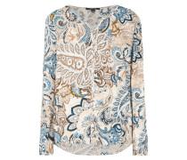 Blusenshirt mit ornamentalem Muster