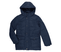 Jacke mit Wattierung und Kapuze