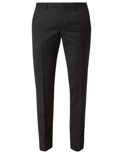 Slim Fit Anzug-Hose aus reiner Schurwolle