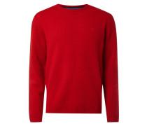 Pullover aus reiner Lammwolle