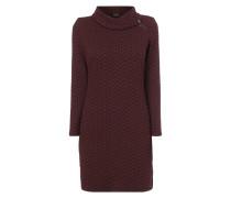 Kleid mit strukturiertem Muster
