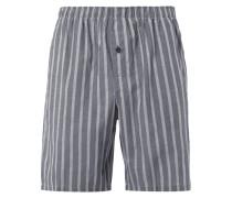 Pyjamashorts mit Streifenmuster
