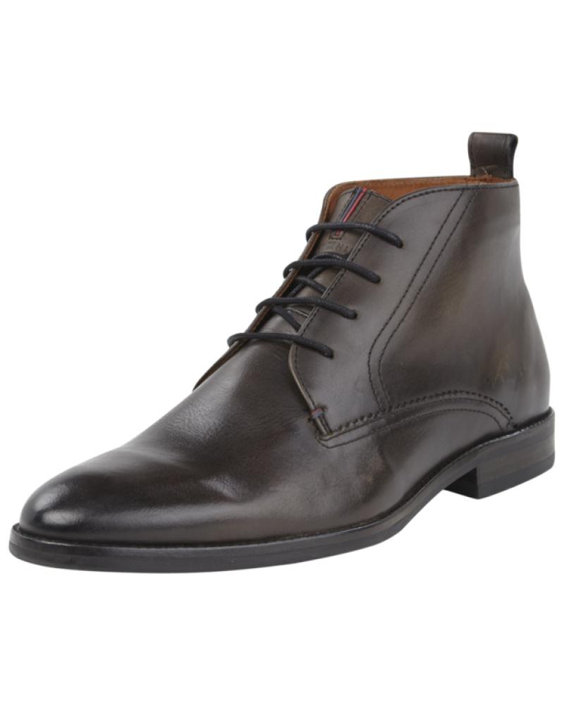 tommy hilfiger herren boots aus leder reduziert. Black Bedroom Furniture Sets. Home Design Ideas
