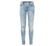 Bleached Skinny Jeans mit Destroyed-Effekt