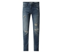 Slim Fit Jeans mit Stretch-Anteil Modell 'Piers'