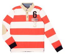 Rugby-Shirt mit Ellenbogen-Patches