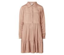 Kleid aus Viskose mit verdeckter Knopfleiste Modell 'Denike'