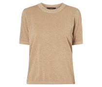 Pullover mit schimmerndem Effektgarn