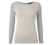 Pullover mit durchgehendem Reißverschluss