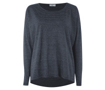 Boxy Fit Longsleeve mit Streifenmuster