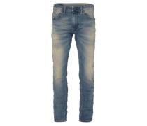 Slim-Skinny Jeans im Used Look