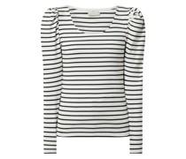 Shirt mit Streifenmuster Modell 'Kakayli'