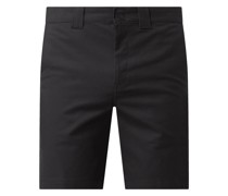 Chino-Shorts aus Baumwolle Modell 'Cobden'