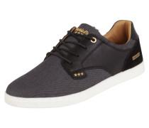 Sneaker aus Leder und Canvas