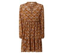 Kleid aus Chiffon Modell 'Tullan'