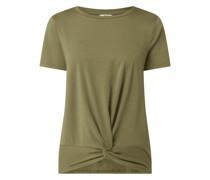 T-Shirt mit Modal-Anteil Modell 'Stephanie'