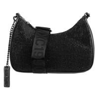 Handtasche mit Ziersteinen Modell 'Vamp'