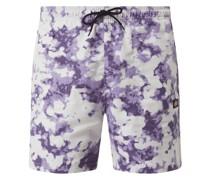 Shorts im Batik-Look