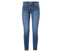 710 SUPER SKINNY - Stone Washed Super Skinny Fit Jeans